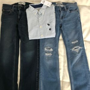 Bundle Abercrombie and Fitch boys clothing